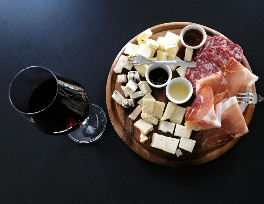 wine and cheese event at WK&S but the North East Berks Chamber